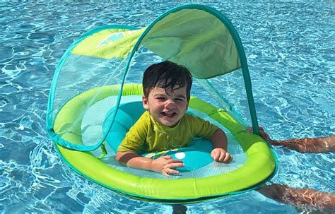 baby pool float with canopy swimways baby float with canopy national learn to