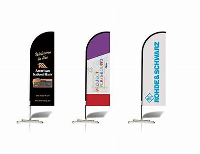 Banner Feather Banners Flags Company Signs Advertising