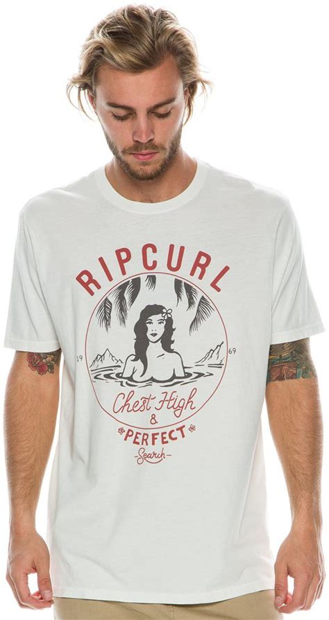 rip curl chest high and he tees surf shirt surf graphic shirts