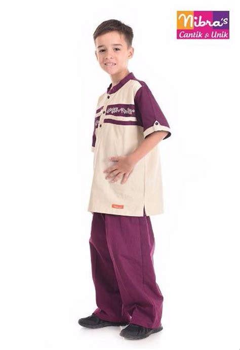 jual new baju koko anak murah nibras nsa l29 krem original pakaian anak di lapak gerai