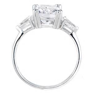 cushion engagement rings anise 39 s cushion cut cz engagement ring