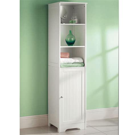 white freestanding bathroom cabinet white wooden bathroom cabinet shelf cupboard bedroom
