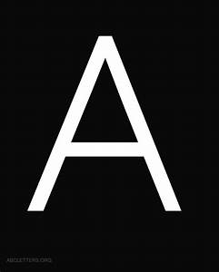 large abc letters white black abc letters org With black and white letter pictures