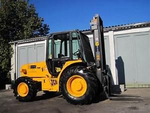 Jcb 926 930 940 Rough Terrain Forklift Workshop Service