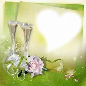 Cadre Photo Mariage : montage photo cadre coeur mariage pixiz ~ Teatrodelosmanantiales.com Idées de Décoration