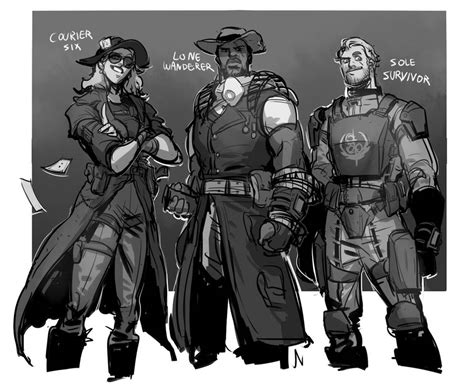 Fallout Characters By Silsol On Deviantart