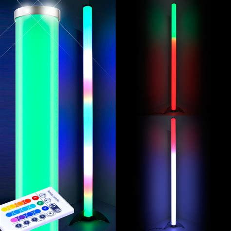 Led Leuchten Flur by Rgb Led Steh Leuchte Dimmbar Stand Le Farbwechsler
