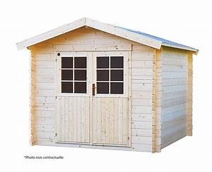 Abri de jardin en bois Lillevilla 21 de 5m2 VAASA, 28mm