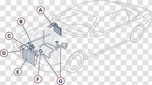 Car Internal Combustion Engine Cooling Diagram System