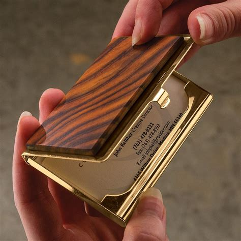 Look at this creative designs. Business Card Holders   Rockler Woodworking and Hardware