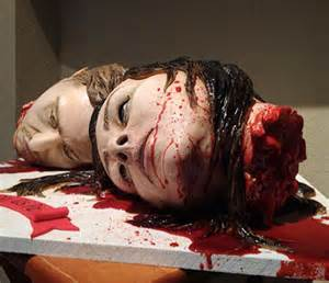 wedding gift ideas for groom horror wedding cake