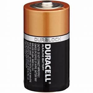 Duracell Duralock C    Lr14 Alkaline Batteries