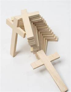 Unfinished Wood Crosses - Package of 15 - Wood Cutouts