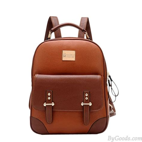 pet carriers style vintage leather backpack fashion