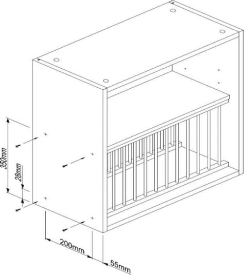 plate rack hmm assembly instructions solid wood kitchen cabinets