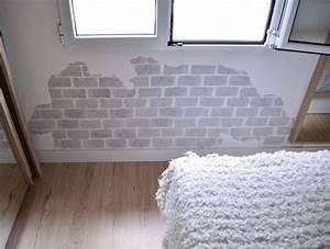 Cómo pintar una pared con efecto ladrillo Departamento de Ideas
