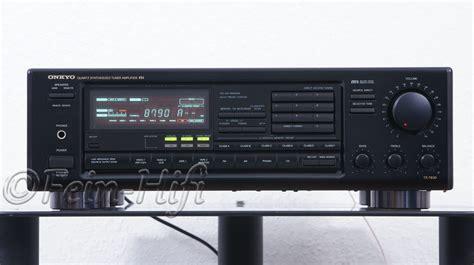 Onkyo Tx7830 Stereo Receiver Mit Phono Eingang