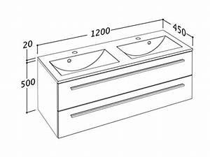 Waschtischunterschrank 120 Cm : waschtischunterschrank 120 cm breit wei hochglanz doppel waschtisch doppel waschbecken ~ Markanthonyermac.com Haus und Dekorationen