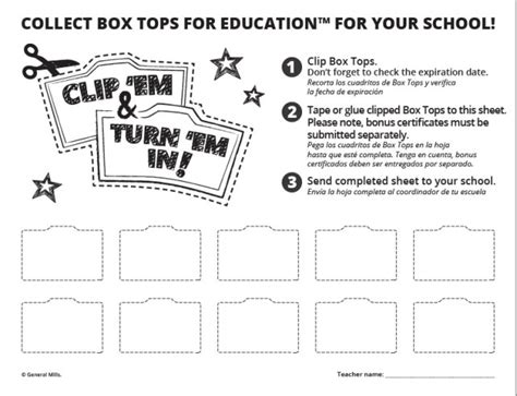 Box Tops For Education Are Everywhere