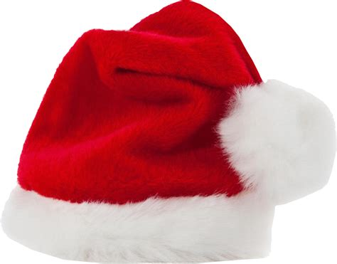christmas santa clause hat transparent