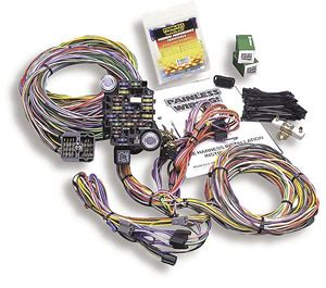 Painles Wiring Harnes 1993 Mustang Chassi by Wiring Harness V8 12 Circuit Non Keyed Column Painless