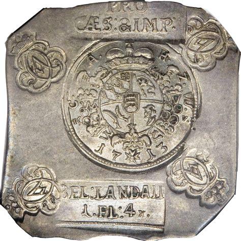 city siege 1 1 gulden 4 kreuzer karl siege coinage