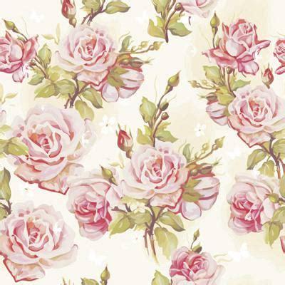 papel de parede floral de rosas