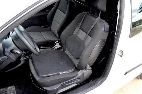 coussin siege voiture coussin d 39 assise pour siège de voiture ergodrive