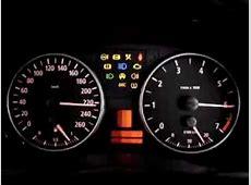 BMW 320i E90 Instrument Cluster Test YouTube