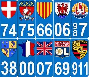 Immatriculation Europe : annuaire auto autocollant pour plaque d 39 immatriculation sticker d partements et r gions de ~ Gottalentnigeria.com Avis de Voitures