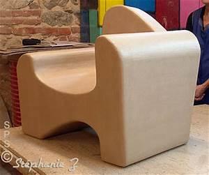 Meuble En Carton Design : des l ves belges et leurs mobilier fabriqu en stage carton ~ Melissatoandfro.com Idées de Décoration