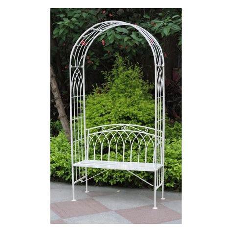 garden arch  seat blackbrook interiors