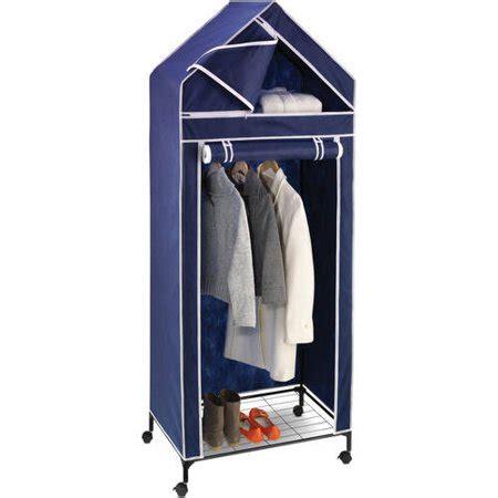 Walmart Portable Closet by Honey Can Do 30 Quot Portable Storage Closet Navy White Trim