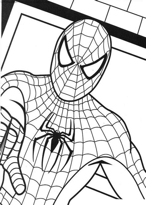 spider man  coloring pages timeless miraclecom