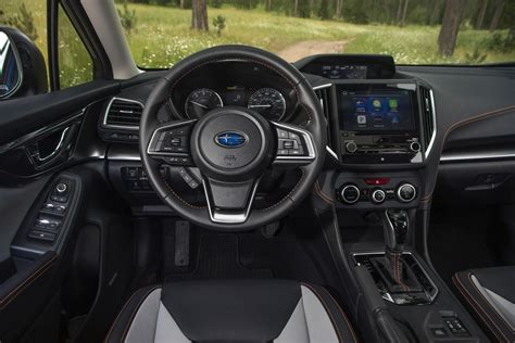 subaru wrx interior 2018 2018 subaru crosstrek review