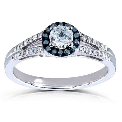 Blue Diamond Halo Engagement Ring  Wedding And Bridal. Modern Mother Rings. L Name Engagement Rings. White Dragon Rings. 1.5 Wedding Rings. Jewellery Pinterest Wedding Rings. Real Rings. Wedding Day Wedding Rings. Pricy Engagement Rings