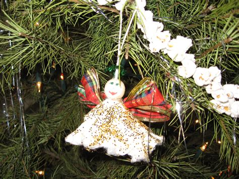 unique tampon angel christmas ornament favecraftscom