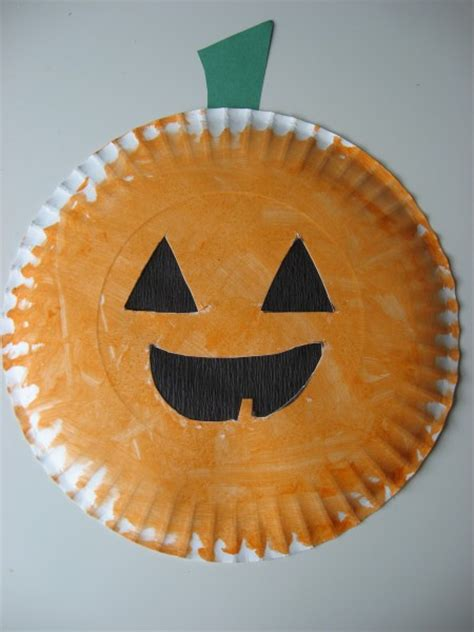 paper plate o lantern amp easy craft and 608 | quick and easy 019
