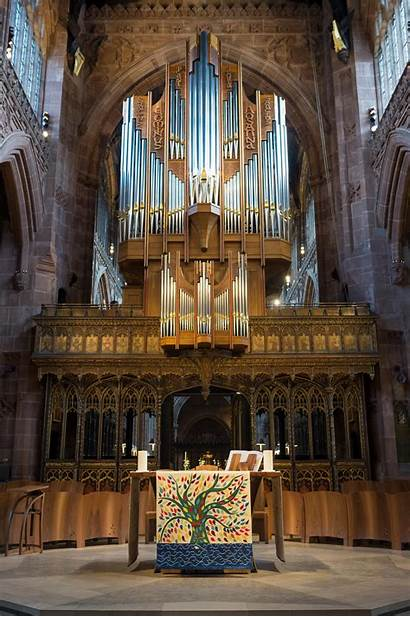 Manchester Cathedral Altar Organ Frontals Occasions Marks