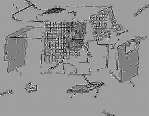 2335864 Kit-cab Seal -debris Barrier
