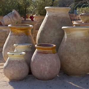 Jarre Terre Cuite Grande Taille : poterie d 39 anduze le ch ne vert jarre proven ale jarre ~ Dailycaller-alerts.com Idées de Décoration