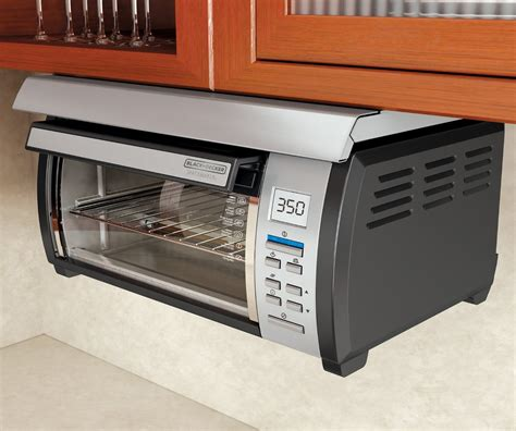 Black Toaster Oven by Cabinet Toaster Oven Black Decker Tros1000