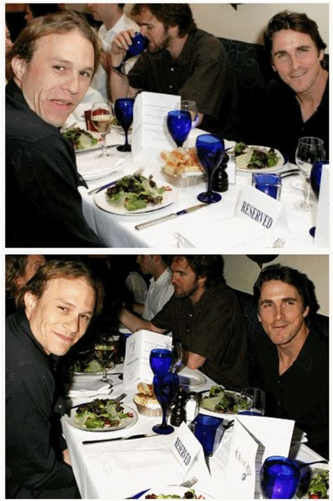 Heath Ledger Christian Bale The Joker