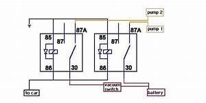 Dual Fuel Pump Wiring Question - Evolutionm