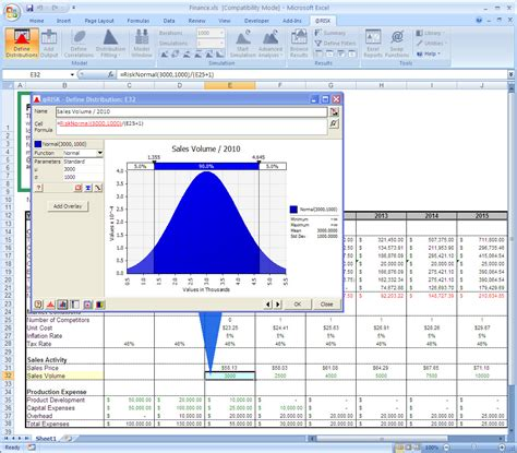 microsoft stock charts risk risk analysis software using monte carlo simulation
