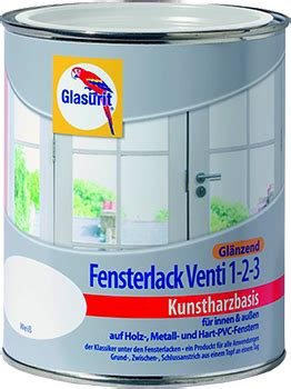glasurit lasur holz 18 65 l 750ml glasurit fensterlack venti 1 2 3 gl 228 nzend kunstharzbasis weiss