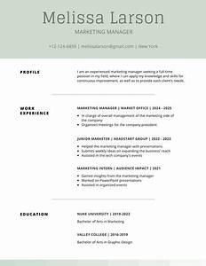 Customize 505  Simple Resume Templates Online