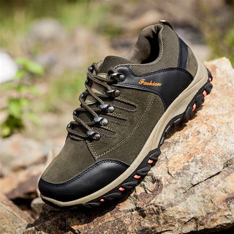Mens Safety Shoes Fashion Summer Breathable Outdoor Work