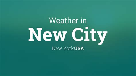 weather   city  york usa