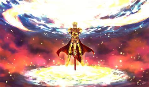 anime fategrand order gilgamesh fatestay night fondo